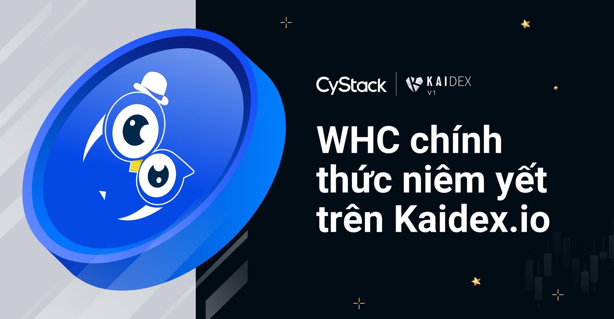 Thông báo: WHC chính thức được niêm yết trên KAIDEX