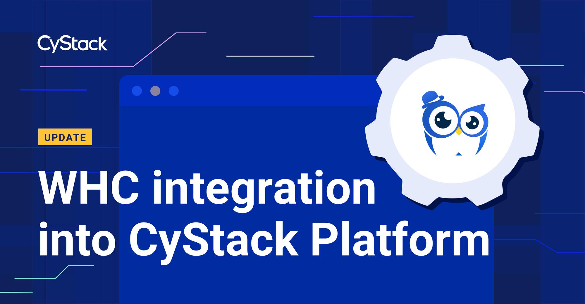 WHC Integration Progress Updates